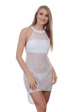 Луксозна плажна рокля CFQ2U white
