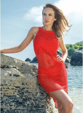Плажна рокля CFQ2U red