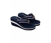 Дамски плажни чехли с платформа 38980 59x