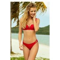 Червен бански костюм 38041+38042