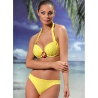 Бански костюм F2175 жълт
