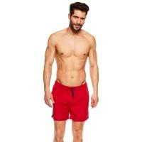Едноцветни мъжки плажни шорти 36841