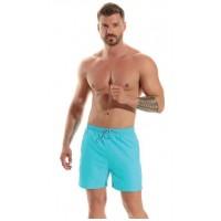Мъжки шорти за плаж B540 светлосини