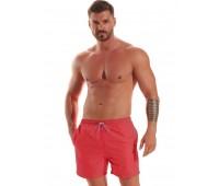 Едноцветни мъжки плажни шорти B540