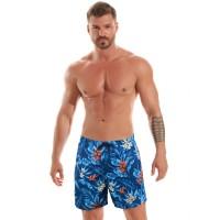 Мъжки плажни шорти B601 orchid