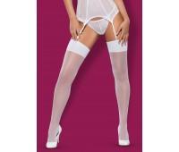 Чорапи за жартиери S800 white