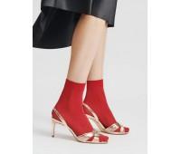 Къси фигурални чорапки Atena