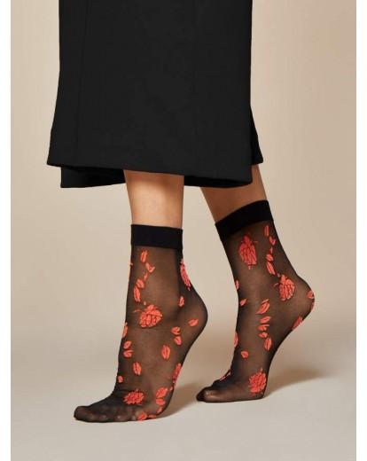 Къси фигурални чорапки Ciambelle