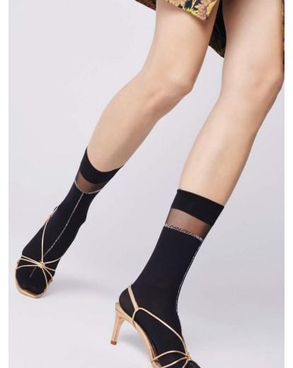 Къси фигурални чорапки Elena