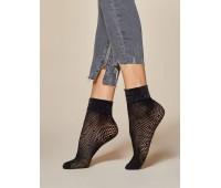 Къси фигурални чорапки Puntini