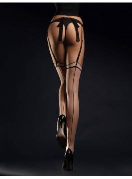 Чорапи за жартиери с ръб Madame