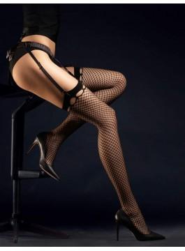 Мрежести чорапи за жартиери Burlesque