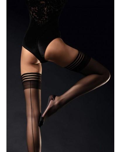 Силиконови чорапи с ръб Femme fatale