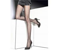 Фигурален чорапогащник на лъскави точки Lorna