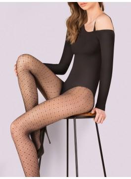 Фигурален чорапогащник на точки Selena