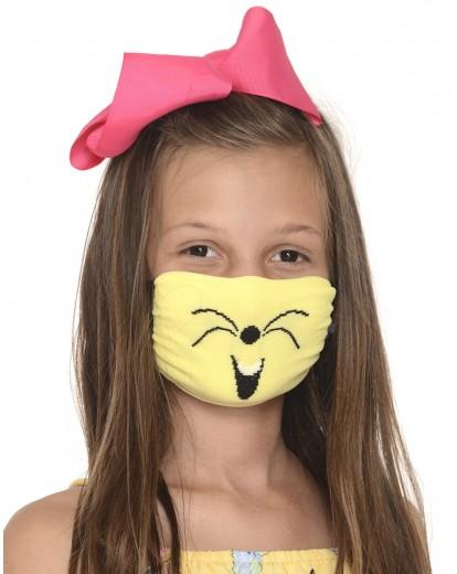 Трислойна маска за момиче с подвижен филтър