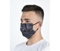 Четирислойна предпазна маска за лице с джоб