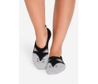 Топли дамски чорапи тип пантофи 38449