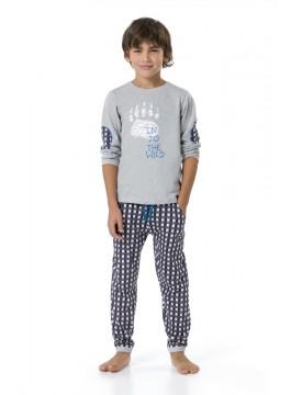Детска пижама Bear trace