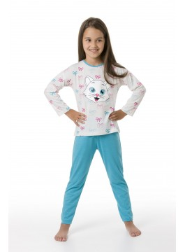 Детска пижама Cat