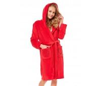 Дамски халат с качулка 36511