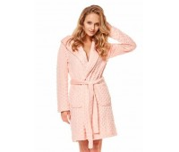 Дамски халат 36512 pink
