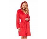 Дамски халат 36512 red