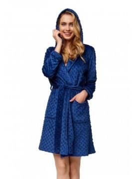 Дамски халат 37383 blue