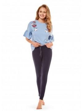 Дамска пижама 36239 blue