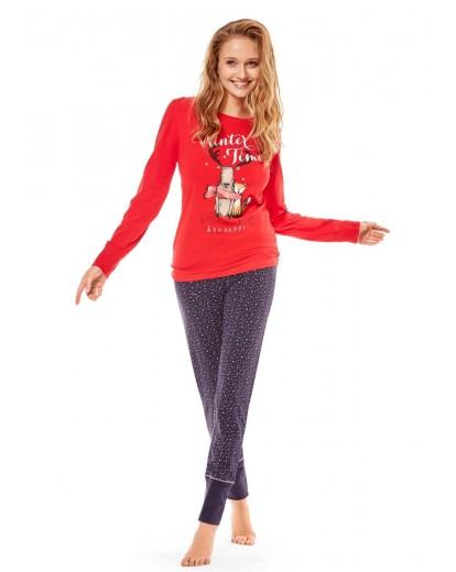 Дамска пижама 36510 red