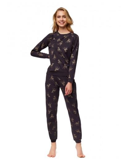 Луксозна дамска пижама на елени 37378