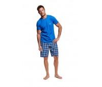Мъжка пижама с къс ръкав 37758