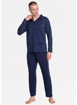 Мъжка пижама с копчета 38363
