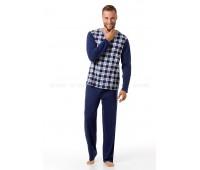 Мъжка пижама Grid